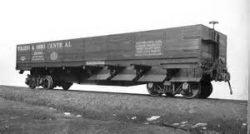 This image displays a railroad car.