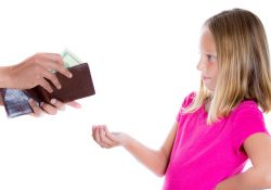 bribe children for good behavior