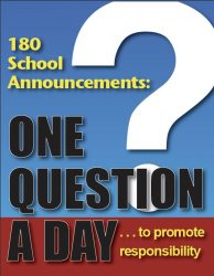 180 School Announcments: One Question A Day