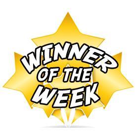 winner of the week