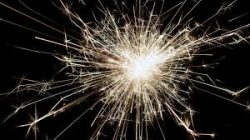 Image of a spark that represents the joy of learning.