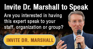 See Dr. Marshall's presenting, consulting, coaching, & media information